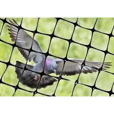 bird b gone garden bird netting 3 4 in mesh black 14 ft x