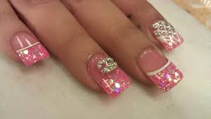 3d blush pink nail designs part 1 of 3 youtube