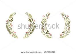Decoration Of Christmas Cards by Hand Drawn Vector Illustration Vintage Decorative Stock Vector