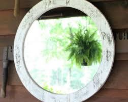 Circle Bathroom Mirror Round Mirror Etsy