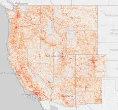 Map Of New Mexico And Arizona by The Rapidly Shrinking American West Highlighted In Interactive Map