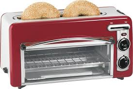 Best Small Toaster Hamilton Beach Ensemble Toastation 2 Slice Toaster Oven Red 22703h