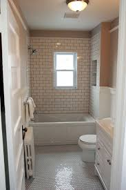 half bath wainscoting ideas pictures remodel and decor window with tile surround bathroom remodel pinterest