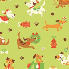 dachshund christmas wrapping paper a doggone christmas christmas wrapping paper