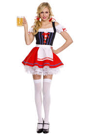 black womens beer bar maid halloween costume pink queen