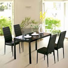 5 piece kitchen table set lovely uenjoy 5 piece dining table set 4