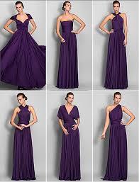 chagne wedding dresses one dress change to 6 style neckline bridesmaid dresses elasticity
