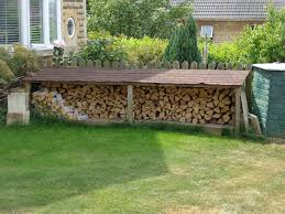 wood store storing wood swept away chimney sweep