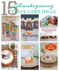 15 thanksgiving place card ideas the happy scraps