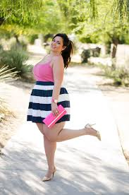 Plus Size Clothes For Girls Plus Size Party Ootd Pink And Navy Opi Color Challenge
