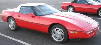 the 1990 chevrolet corvette c4 and zr 1 production statistics