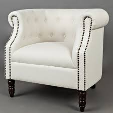 Ivory Accent Chair Jofran Grace Ch Ivory Grace Accent Chair In Tufted Easy Living