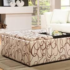 furniture nice oversized ottoman for living room furniture idea