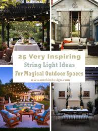 Strings Urban Kitchen 25 Very Inspiring String Light Ideas For Magical Outdoor Spaces