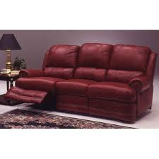 Brown Leather Reclining Sofa by Omnia Leather Wayfair