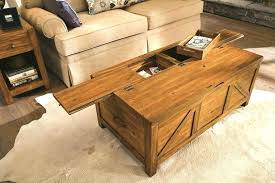 Etsy Ottoman Wood Coffee Table Storage Wood Coffee Table Storage S