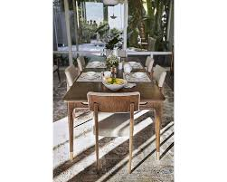 rectangular dining room tables ed ellen degeneres westwood rectangular dining table thomasville