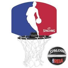 mini panier de basket de bureau mini panier de basket nba spalding