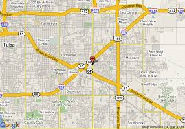 Comfort Suites Tulsa Map Of Comfort Suites Central I 44 Tulsa