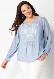 womens no iron blouses plus size blouses christopher