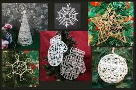 delicate string ornament craftpenguin