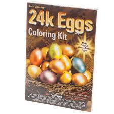 gold easter eggs 24 karat easter egg coloring kit
