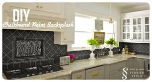 8 diy kitchen backsplash ideas for a person on a budget for