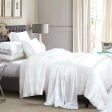 White Silk Bedding Sets Home Decor Fetching Silk Sheets And White Bedding Sets What