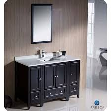 Bathroom Vanity With Side Cabinet Fresca Fvn20 122412es Oxford 48