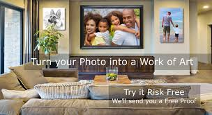 turn your photo into an artwork on canvas a painting from your