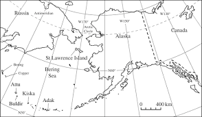 Aleutian Islands Map Rewriting The History Of An Extinction U2014was A Population Of