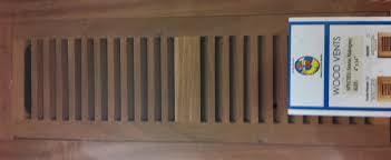 wood floor vent covers wood floor vent registers wooden vent