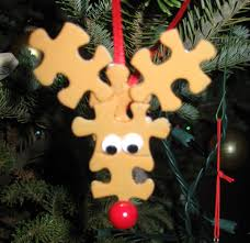 more diy ornaments to make with reindeer ornaments puzzle
