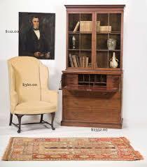 Queen Anne Secretary Desk by Hap Moore Antiques Auctions March 1 2008
