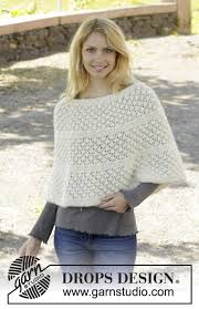 drops design poncho miss lillian drops 157 31 free knitting patterns by drops design