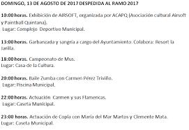 imagenes de coplas de despedida domingo 13 de agosto de 2017 despedida ayuntamiento de higuera