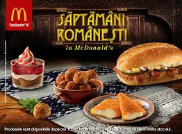 around the world mcdonald s romania offers themed menu