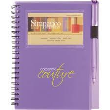 business card notebook business card window custom notebook w pen 5 x 7 epromos