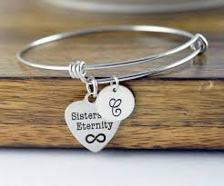 personalized bangle bracelets for eternity gift for gift bracelet