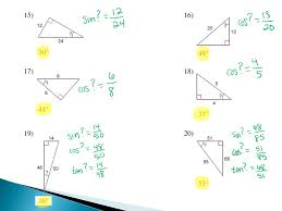 1 9 and 1 10 eq how do we solve right triangles using trig and