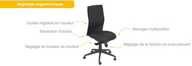 guide d ergonomie travail de bureau réglage fauteuil de bureau fauteuil de bureau