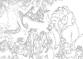 jungle book mowgli coloring pages