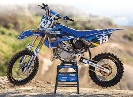 65cc motocross bikes motocross action magazine mxa builds junior a starter yamaha yz85