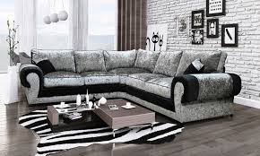 Cheap Large Corner Sofas 55 Off Madrid Corner Sofa Groupon