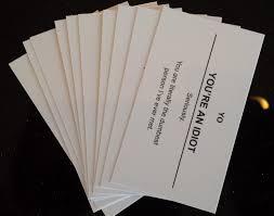 offensive business cards offensive business cards noveltystreet