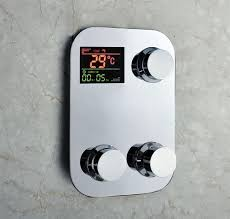 2017 digital shower faucet thermostatic temperature sensitive