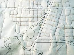 map quilt diy map quilt by haptic lab project sewing