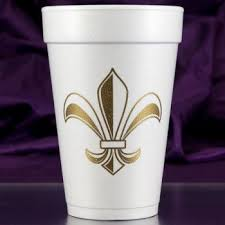 mardi gras cups preprinted mardi gras cups napkins ready to ship cup of arms