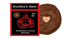 chocolate delivery service chocolate lover s ecstasy buddha s best edibles 300mg thc