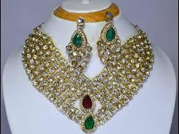 wedding necklace photos images Bridal necklace set designer heavy arcylic stone bridal wedding jpg